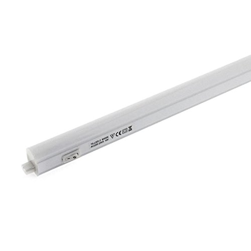 Tubo LED T5 Integrado con interruptor, 14W, 120cm, Blanco cálido