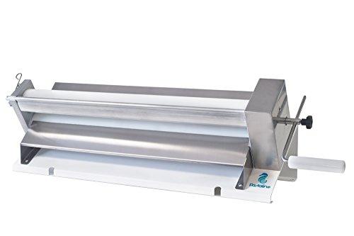 Sfogliafacile XL Teigausrollmaschine - # 1 Italienische Bäcker Pasta-Teigrollmaschine schafft seidig glatten Teig, Fondant, Modellierung von Schokolade, Pastateig Gebäck 0-12mm dick