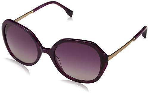KAREN MILLEN Damen Luxe Sonnenbrille, Violett (Purple), 55.0