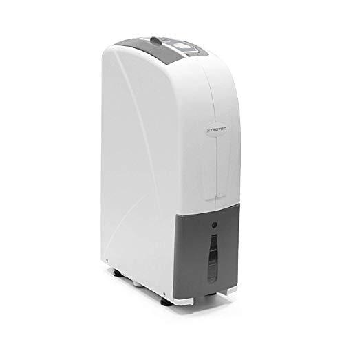 TROTEC Deshumidificador TTK 30 S (deshumidificación de 12L/24h) para habitaciones de 12 m²