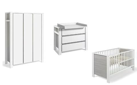 Armoire Milano 2 Portes - Schardt MIlano Chambre d'enfant avec lit d'enfant