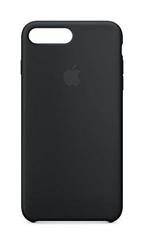 Apple Silikon Case (iPhone 8 Plus / iPhone 7 Plus) - Schwarz