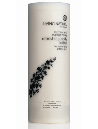 Living Nature: Refreshing Bodylotion Lavender erfrischende Körperlotion (200 ml)