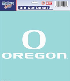 Oregon Ducks 8Ft X8Ft Die-Cut Decal