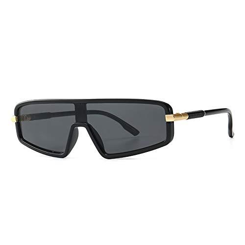 WWVAVA Sonnenbrillen Trendy Flat Top Models Sonnenbrillen Herren 2019 Damen Luxus Markendesigner Vintage Classic Black Cat Eye Sonnenbrille Für Herren UV400, c2