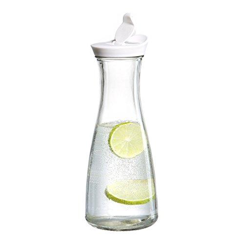 Ritzenhoff & Breker Flasche mit Ausguss Lido, Glasflasche, Karaffe, Glaskaraffe, 900 ml, 669435
