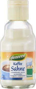 dennree Bio Kaffeesahne (6 x 165 gr)