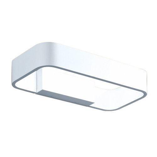 Helestra LED Wandleuchte 4 W/weiß / IP54 / 540 lm / 3000 K/H: 6 cm, B: 30 cm, Ausladung 14.5 cm, warmweiß A18251.07
