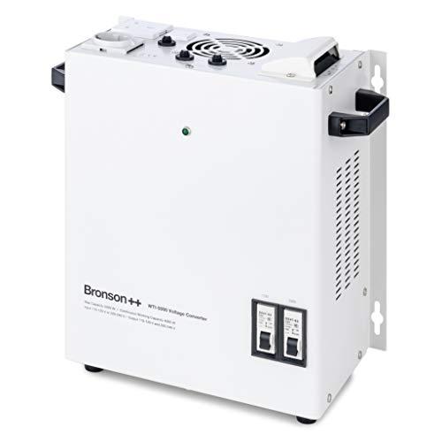 Bronson++ WTI 5000 110 Volt USA Spannungswandler Transformator zur Wandmontage 5000 Watt - In: 110V oder 220V / Out: 110V und 220V - Bronson 5000W