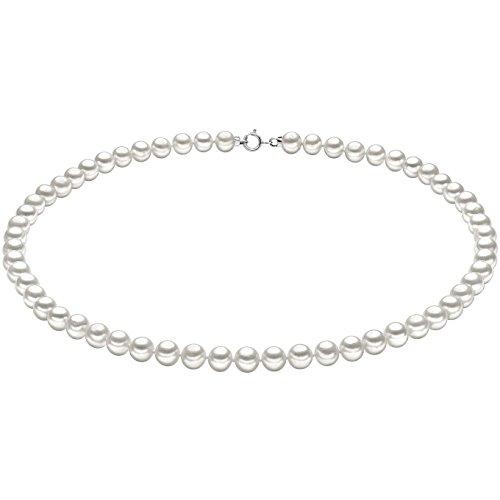 Collana donna gioielli comete perla elegante cod. fwq 102 am