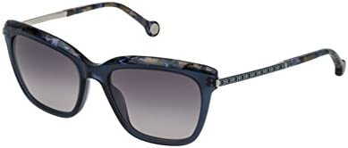 Carolina Herrera SHE689 SILVER / BLUE / GREY GRADIENT (0AGQ) - Gafas de sol