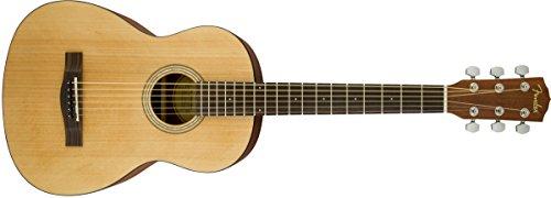 Fender fa-15acero guitarra acústica con funda–3/4