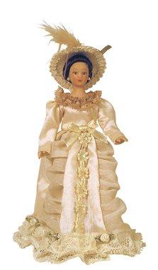 Poupée femme beige