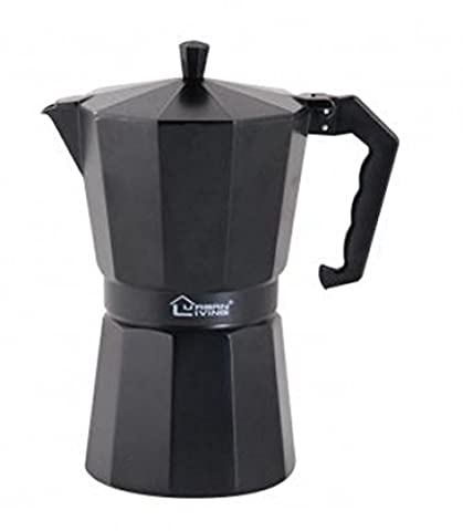 Italian Coffee Maker (12 Cups Black)