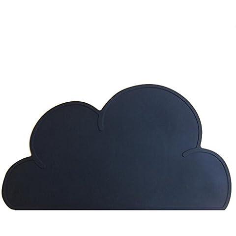 Kuke Silicone multiuso, motivo nuvole Potholders, impermeabile, cuscinetti, antiaderente, resistente