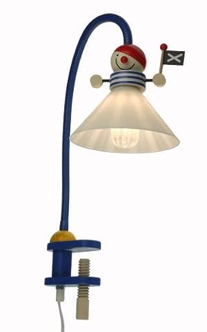 Niermann Standby 247 Pirate Lampe Liseuse pour Enfants Plastique / Métal / Bois 20 Watts