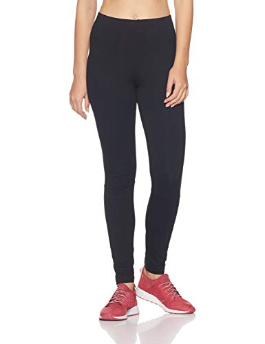adidas Damen Essentials Linear Tights, schwarz (Black/White), L