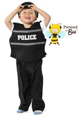 Pretend to Bee Policeman Police Officer Fancy Dress Costume Age 3-5 Years by GSC