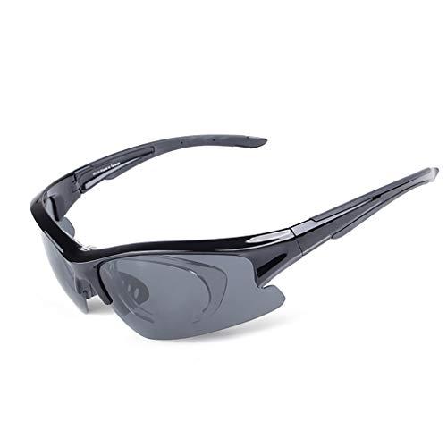 YHDD Herren Sonnenbrillen Sonnenbrillen Outdoor Angeln Brillen Polarisierte Klare Schutzbrillen (Farbe : #1)