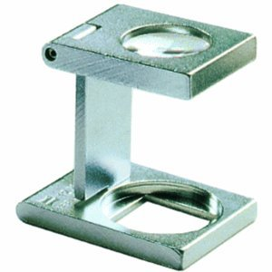 Ecobra Fadenzähler Messing 25x25mm 6-fach
