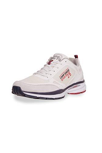 Camp David Herren Running Sneaker aus Mesh mit Logo