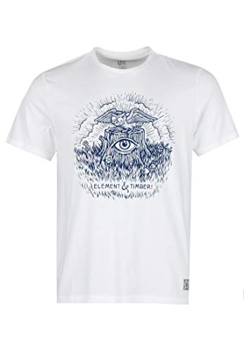 Element Too Late Stump T-Shirt - Off White - L