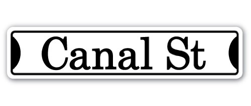 SignMission Canal ST Street-Kinder, die Namen Raum Schild | | 45,7cm Breit