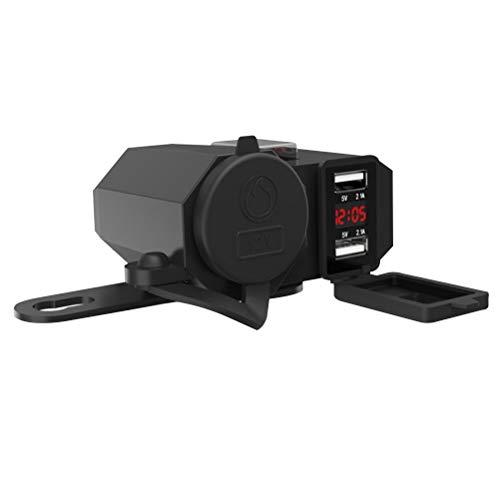 Vosarea USB 12V multifunktionales Motorrad wasserdichtes Ladegerät