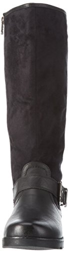 Refresh - 62234, Stivali alti non imbottiti Donna Nero (Nero (Negro))
