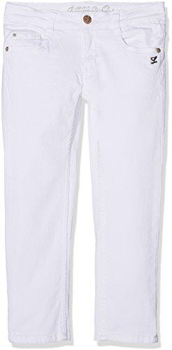 Lemmi Mädchen Jeanshose Hose Jeans Girls Skinny Mid, Weiß (Bright White 1000), 152 (Jeans Weiße Mädchen)