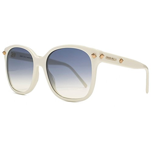 3c90d91fe52 Jimmy Choo Dema Sunglasses in White DEMA S FMZ 56 -