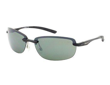 Timberland polarized sunglasses tb9051/02r matte black/green