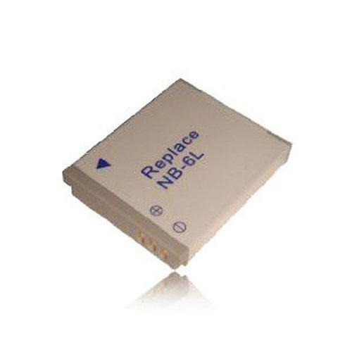 weltatec Qualitätsakku Akku Accu Digicam kompatibel Canon Digital IXUS 85 IS 95 IS 105 IXUS SX 240 HS SX 260 HS / NB-6L Digitalkamera Hochleistungsakku Li-ion Akku Ersatzakku Kamera-Akku - (nur Original weltatec mit Hologramm)