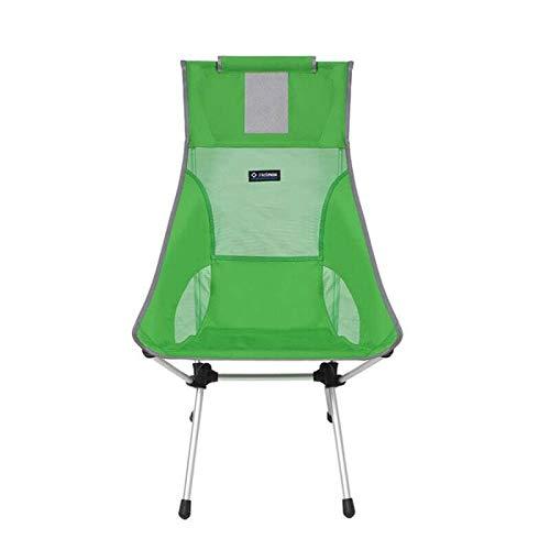 Helinox Sunset Chair,Campingstuhl,Faltstuhl,Aluminium,leicht,stabil,faltbar,inkl Tragetasche,Clover,one Size