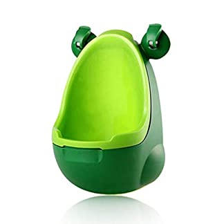 Kids Frog Potty Toilet Urinal Pee Trainer Inodoro suspendido Pee Trainer Penico Niños Baby Boy Baño Rana Orinal (Color : A)