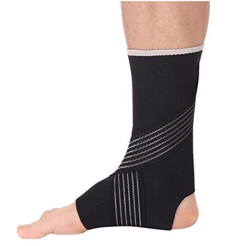 Cavigliera attiva, Manica a compressione stabilizzatore caviglia con cinghie, Bretelle for pallavolo, Calcio, Pallacanestro, Rugby, Calza a compressione for protezione e supporto distorsione, Varie mi