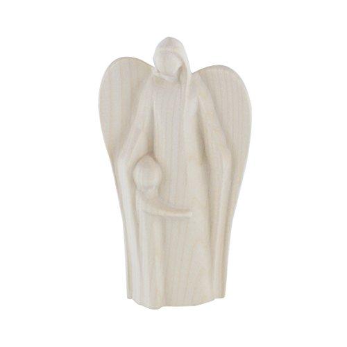 Holzfigur 'Engel der Geborgenheit'