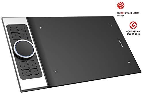 XP-PEN Deco Pro Small Tablette Graphique Android 9 x 5 Pouces avec Double roulettes 8 Raccourcis Stylet à 8192 Niveaux Compatible avec Mac/Windows/Tablette et Smartphone Android (Small)