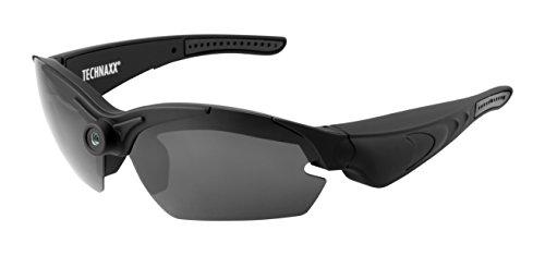 Technaxx TX-25 - lentes de cámara (Sunglasses, Deporte, Negro, CMOS, 5 MP,...