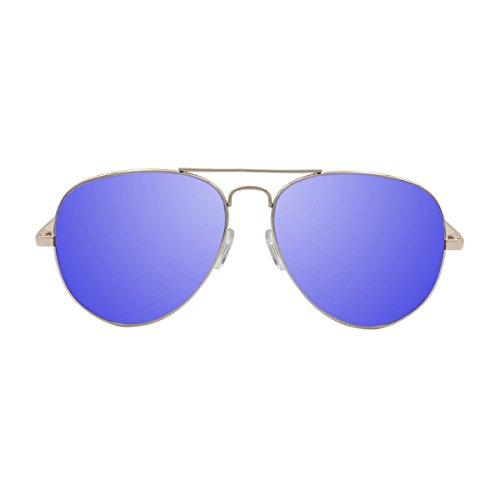 Ocean Sunglasses Banila aviator - lunettes de soleil en Métal - Monture : Argent - Verres : Fumée (18110.2) LH9j981Q6