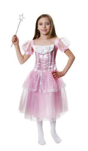 Girls Pink Princess Fancy Dress Costume Age 7-9