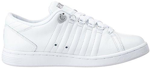 K-Swiss LOZAN III Damen Sneakers Weiß (WHITE/WHITE/SILVER 133)