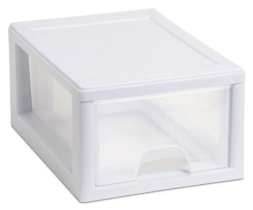 Sterilite 20518006 Aufbewahrungsschublade, stapelbar, 6 Stück -