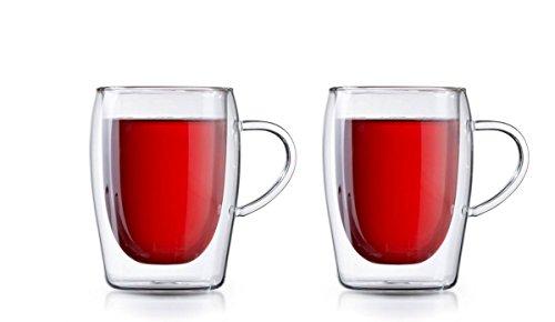 Boral Doppelwandige Teegläser