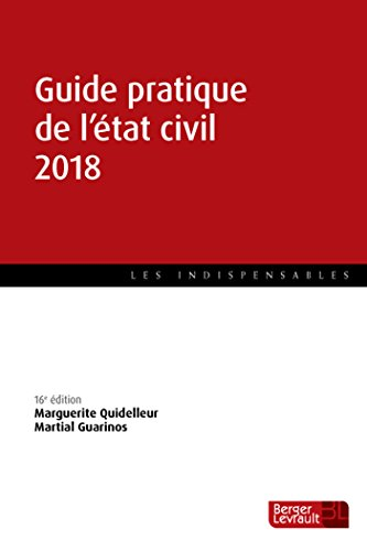Guide pratique de l'état civil