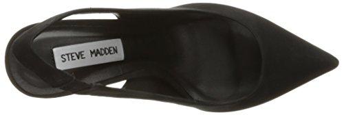 Sandalo Steve Madden Dove in camoscio nero Nero