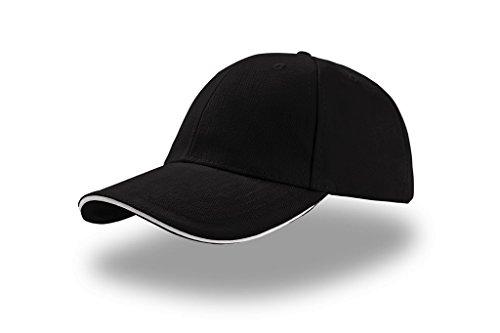 Atlantis liberty sandwich cap Noir - Black White