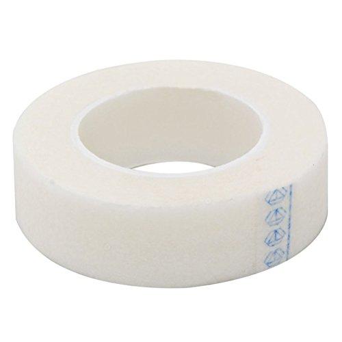 Pixnor 6 rotoli di nastro medico per Extension ciglia individuali di alimentazione bianco