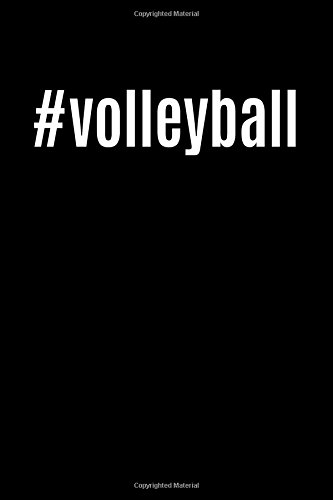 #volleyball: Cool Sports Blank Book, Journal, Diary, Notebook for Men & Women (All Sports Notes, Band 1) - Bulk-sport-band