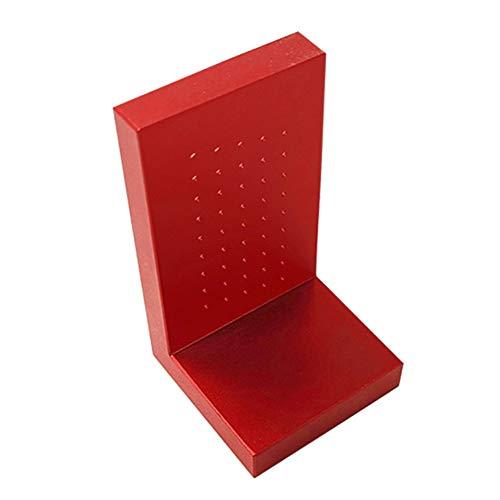 31Ez4HjABBL - Herramientas de carpintería de precisión, regla de medición de agujeros en forma de T de aleación de aluminio, calibre de alta precisión, marca de ayuda de calibración cruzada